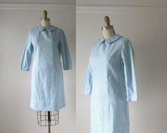 vintage 1960s dress / 60s dress / Mod Grid