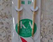 "KA US 6 / 4.25mm 16"" Circular Bamboo Knitting Needles"