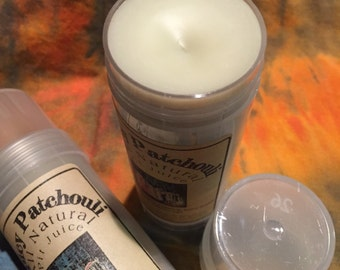 Patchouli All Natural Deoderant or solid lotion