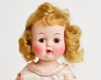 """50's Yes No Answer Doll 10 1/2"""" Chunky"""