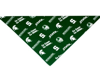 Michigan State Mens/Womens Bandana