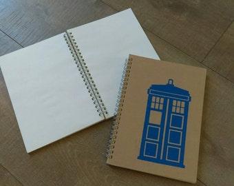 Large TARDIS -Notebook