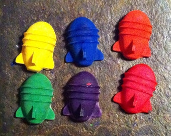 The bomb crayons