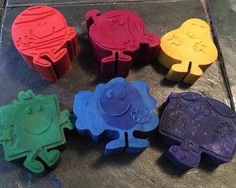 Men and little sunshine crayon set