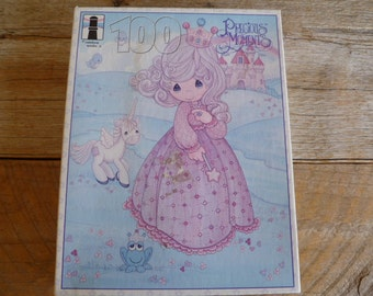 1995 Precious Moments 100 Piece Puzzle