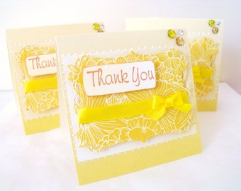Mini Thank You Cards 3 Pieces Ready To Ship