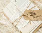 Rustic Lace Wedding Invitation - SAMPLE | Lace Wedding Invitation - SAMPLE | Rustic Wedding Invitation - SAMPLE