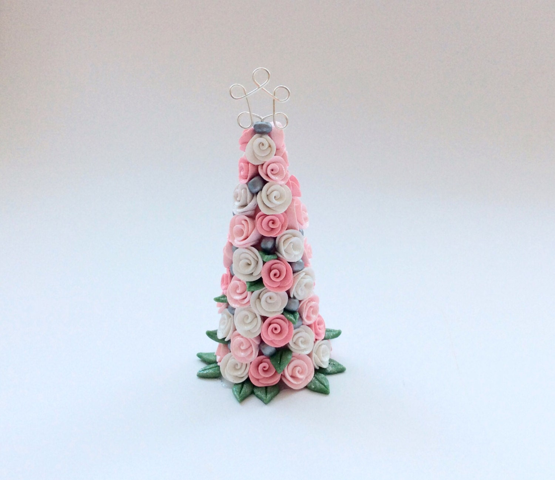 how to make miniature dollhouse christmas tree