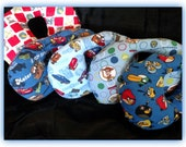 Travel Pillow - Car Seat Neck Support - Infant to Adult Sizes - Angry Bids / Toy Story / Curious George