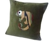 Camouflage Chameleon cushion