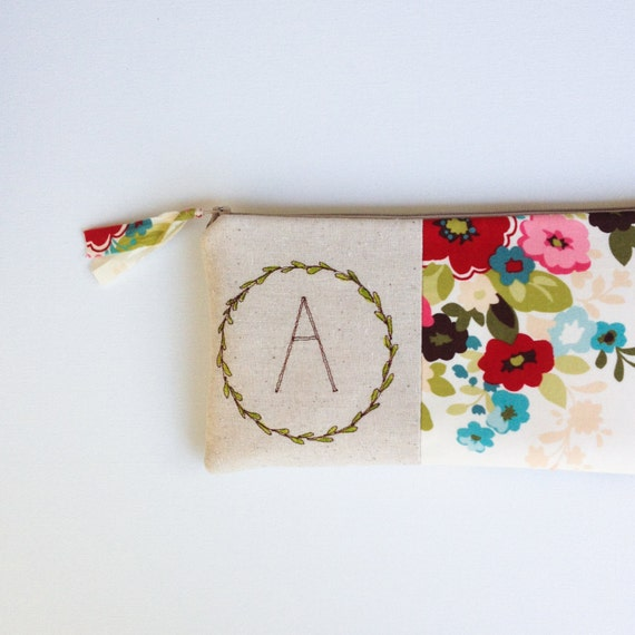 Baby Shower Hostess Gift Ideas Etsy : Baby shower hostess gift monogram clutch personalized host