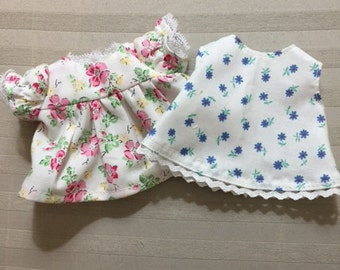 Set of 4 baby doll dresses and nightgowns - size small