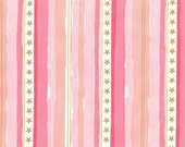 Pink- Stars and Stripes with Cotton Metallic- MAGIC by Sarah Jane for Michael Miller- MD7195-PINK