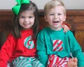 Two Sets of Goat & Lulu Christmas Pajamas