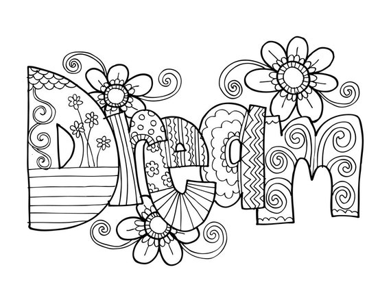 HD wallpapers coloring pages for teens