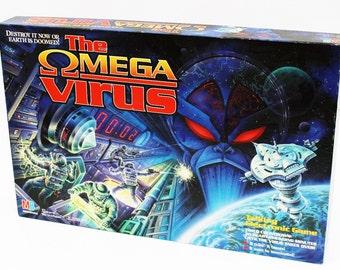 Vintage The Omega Virus Board Game 100% Complete 1992