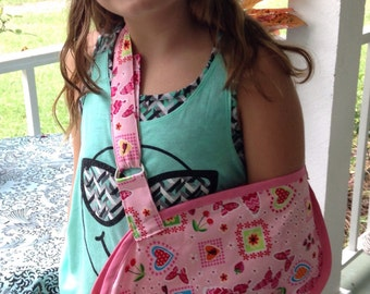 Child's Pink arm sling- 2 sizes
