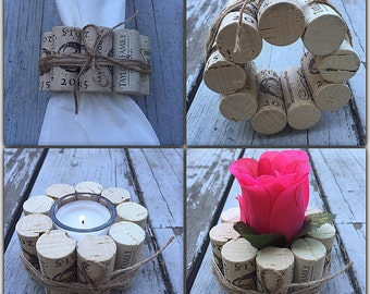 4in1 wine cork candle holder