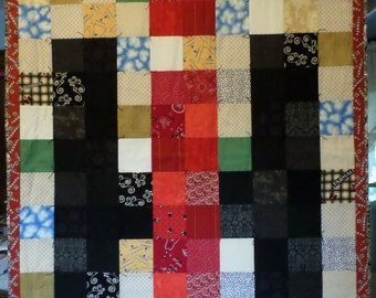 IH Quilt and Pillowcase