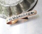 20 Mule Train Tin and Copper Tie Bar-10th Anniversary