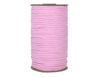 "Baby Pink Skinny Elastic 1/8"" 288 Yard Roll"