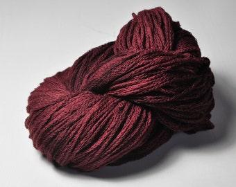 Mahogany hair dye - Merino/Alpaca/Yak DK Yarn - Winter Edition