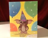 GREMLINS Birthday Card