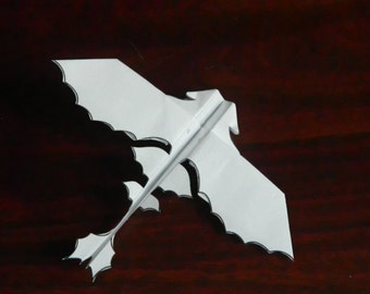 Flying Paper Dragon - Download and Print the Pattern