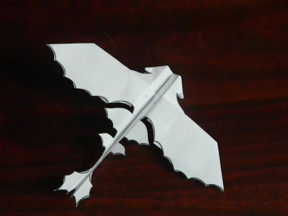Flying paper dragon download and print the pattern for Cardboard dragon template