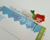 Felt Planner Clips - Mermaid Planner Clip - Planner Clip - Bookmark - Paper Clip - Planner Accessories - Planner Clip