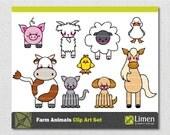Farm Animals Clip Art, Farm Clip Art, Chicken Clip Art, Cow Clip Art, Sheep Clip Art, Duck Clip Art, Horse Clip Art, Goat Clip Art, Dog, Cat