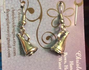 Cheer mega phone earrings