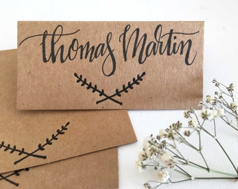 Wedding Place Cards Wedding Name Tags