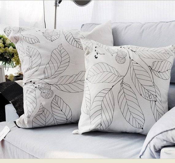 Decorative Throw Pillow cover Case Cushion Zipper by artwhitepear