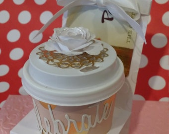 3 for 9.00 - Mini Coffee Cup/Gift Card Favor