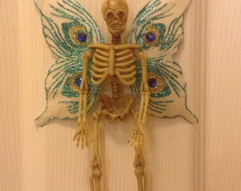 Skeleton Fairy, Dia de los Muertos, Halloween, Fairy Ornament