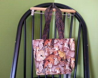 Cheetah Animal Print Tote Bag