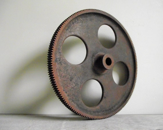Cast Iron Wheels And Gears : Cast iron gear industrial wheel fine tooth