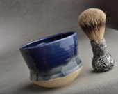 Shaving Cup Ready To Ship Yunomi Smooth Shaving Cup by Symmetrical Pottery