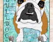 Bulldog  Leash Hook 6x6