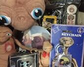 E.T. and Elliott keychain