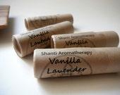 Lavender Vanilla Lip Balm - All Natural Lip Care