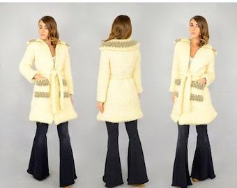 WINTER SALE 70's Reykjavík Wrap Coat