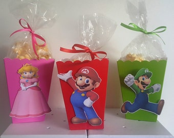 Super Mario Snack Boxes - Set of 10