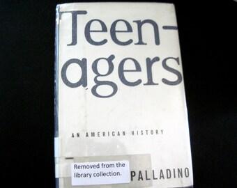 Teenagers, Teenagers Book, Teenage Culture, Teenage Book, Youth Culture Book, Teenage Music, Teenage Clothing, Bobby Soxers, Teen Angst