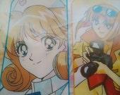 Cutie Honey Manga.Totally 70s Design File Folder.