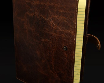 Leather Folder: Leather Padfolio
