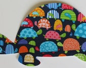 Iron or Sew On Green Light Bright Turtle Applique