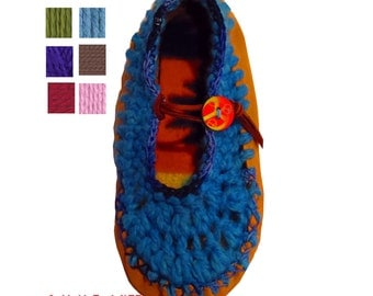 Moccasins, Slip On Leather Moccasins, Soft Leather Moccasins, Moccasin Slippers, Womens Moccasins, Boho, Mary Jane Style, Fairy Shoes, Pixie