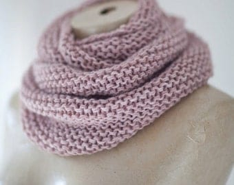 Wedding Cape Infinity Cowl Knit Scarf Warm Loop Scarf Circle Knit Eternity Scarf Winter Accessories Women's Loop Ready for Shipping